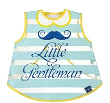 Слюнявчик жилетка на липучке Little Gentleman